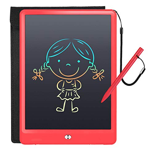 Girls Toys Christmas Birthday Gift for 3 4 5 6 7 Year Old Girls, 10 Inch Colorful LCD Writing Tablet Drawing Board, Erasable Drawing Tablet Doodle Board Toddler Learning Toys for Girls Age 2+