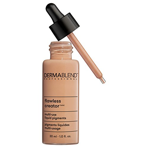 Dermablend Flawless Creator Multi-Use Liquid Foundation Makeup, Full Coverage Foundation, 35W, 1 Fl Oz