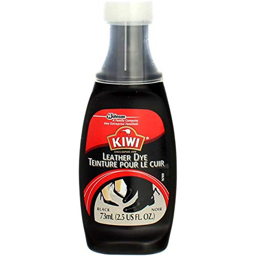 Kiwi 11806 Black Leather Dye, 2.5 Fl Oz (Pack of 3)