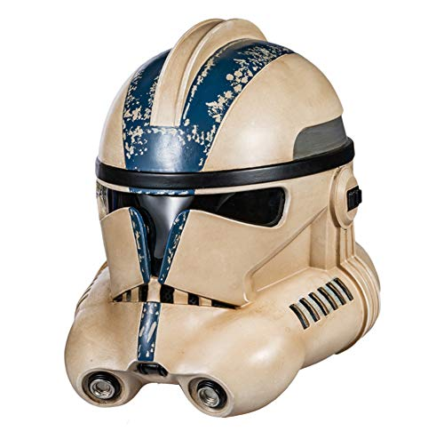 X-COSTUME Stormtrooper Helmet, Trooper Mask Helmet Modern for Adult Halloween Cosplay