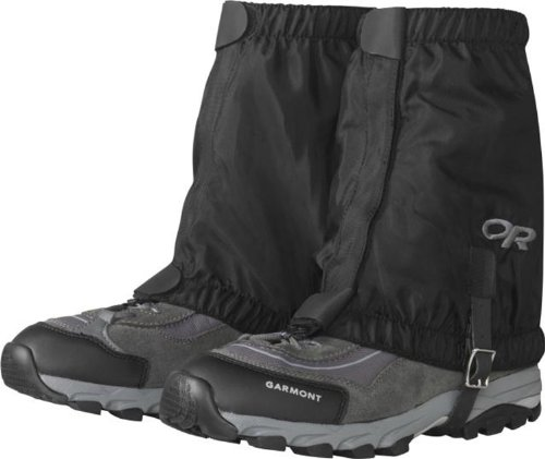 Outdoor Research Rocky Mountain Low Gaiters, Black, L/XL