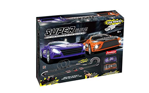 Joysway Superior 552 USB Power Slot Car Racing Set