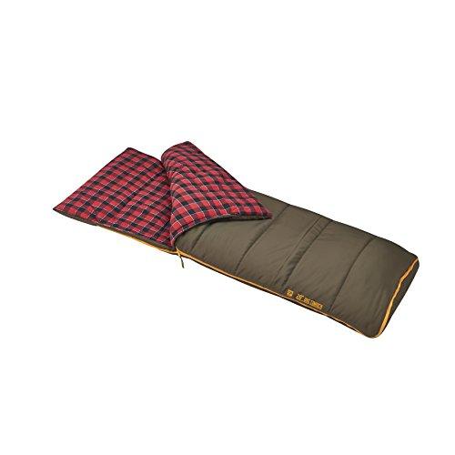Slumberjack Big Timber Pro 20 Degree Sleeping Bag, Brown, Model: 51730716LR
