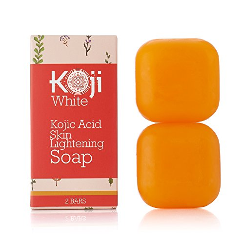 Pure Kojic Acid Skin Brightening Soap - Maximum Strength - for Glowing & Radiance Skin, Dark Spots, Rejuvenate, Uneven Skin Tone (2.82 oz / 2 Bars) | SLS-free, Paraben-free