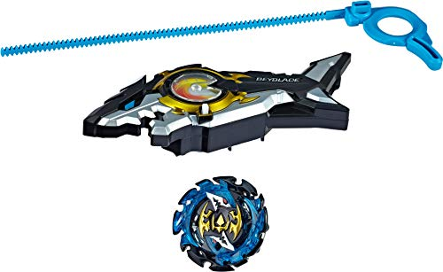 BEYBLADE Burst Turbo Slingshock Riptide Blast Set -- Right/Left-Spin Launcher with Right-Spin Battling Top, Age 8+