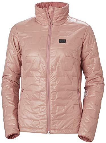 Helly Hansen Womens LIFALOFT Insulator Jacket, Lightweight Primaloft Coat, Water Resistant, 060 Misty Rose, Large