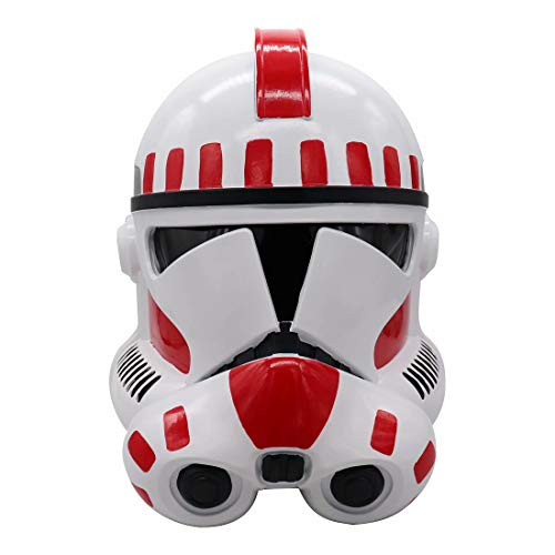 Clone Trooper Mask Helmet with Electronic Voice Changer, Imperial Stormtrooper PVC Full Head Helmet Toy Cosplay Adults