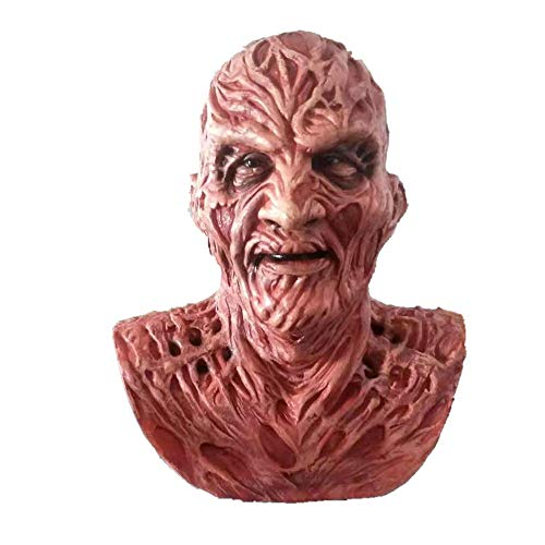 Freddy mask,Halloween Mask Costume Party Latex Full Head Scary Mask