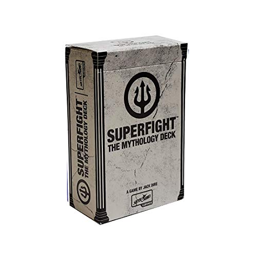 Superfight The Mythology Deck : 100 More Cards for The Game of Absurd Arguments, for Kids, Teens, and Adults 3 or More Players, Ages 8 and Up