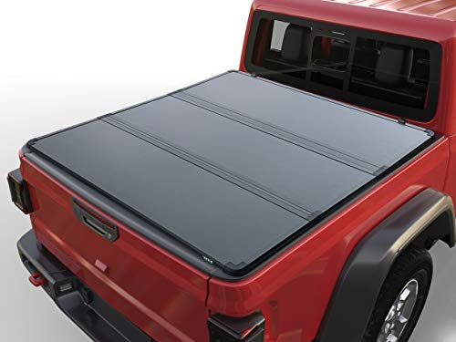 VANGUARD Hard Tonneau Cover Compatible with 15-20 Ford F-150 5.5ft Bed