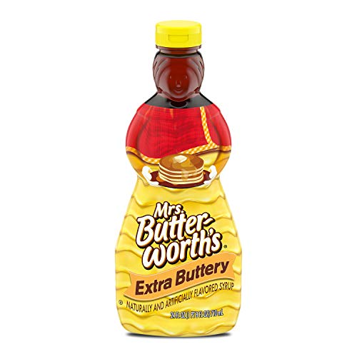 Mrs. Butterworth's Extra Buttery Pancake Syrup, 24 Oz., 24 Fl Oz