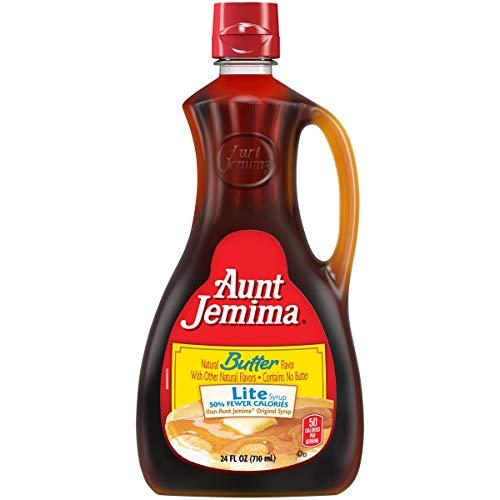 Aunt Jemima, Pancake Syrup, Butter Lite, 24 Oz