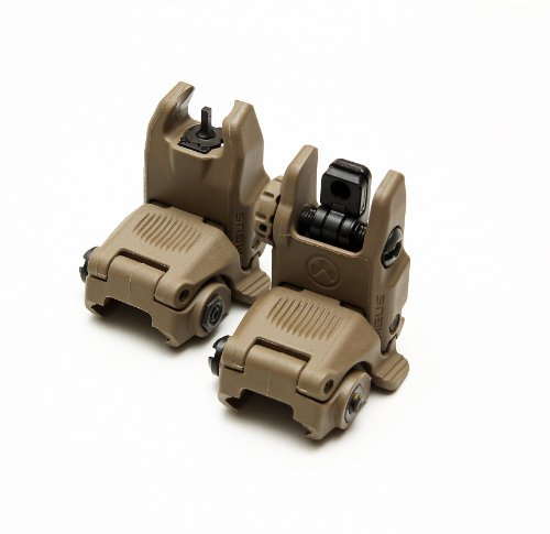 Magpul MBUS Sight Set GEN 2 Color Flat Dark Earth Front & Rear Included