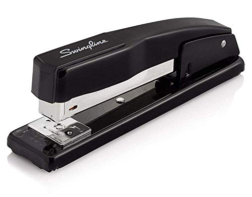 Swingline Stapler, Commercial Desktop Staplers, 20 Sheet Capacity, Portable, Durable Metal Desktop Stapler for Home Office Supplies, Classroom or Desktop Accessories, Black, 2 Pack (44401AZ)