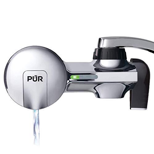 PUR PFM400H Faucet Water Filtration System, Horizontal, Chrome