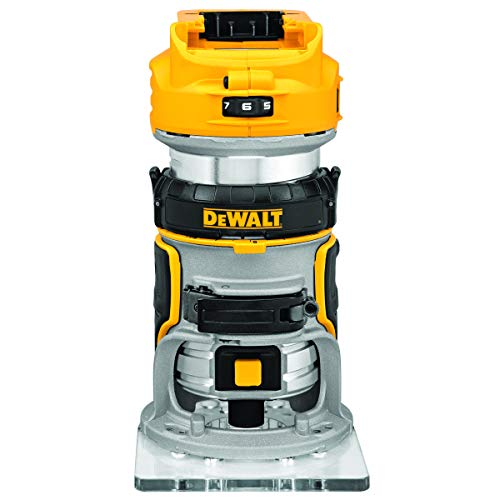 DEWALT 20V Max XR Cordless Router, Brushless, Tool Only (DCW600B),Black-v186,Mini-v186