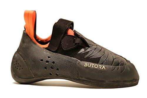BUTORA Unisex Narsha Wide Fit Climbing Shoe, Orange, 9 Men/10 Women
