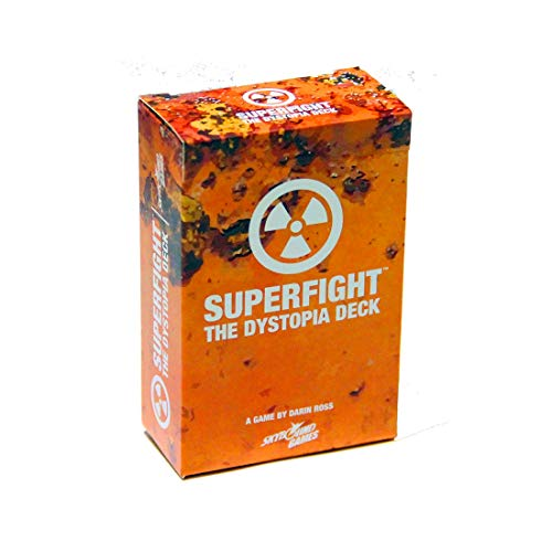 Superfight Dystopia Deck: 100 Dystopian Cards for The Game of Absurd Arguments | Party Game Expansion of Super Powers and Super Problems, for Kids Teens Adults, 3 or More Players Ages 8 +