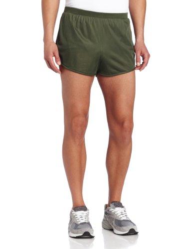 Soffe Men's Ranger Panty Running Short,Od Green,Medium