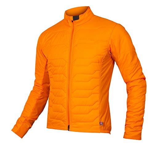 Endura Men's Pro SL Primaloft Cycling Jacket II Pumpkin, X-Large