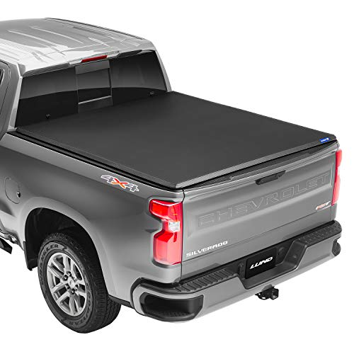 Lund Hard Tri-Fold, Hard Folding Truck Bed Tonneau Cover   969164   Fits 2015 - 2021 GM/Chevy, Canyon/Colorado 5' 2' Bed (61.7')