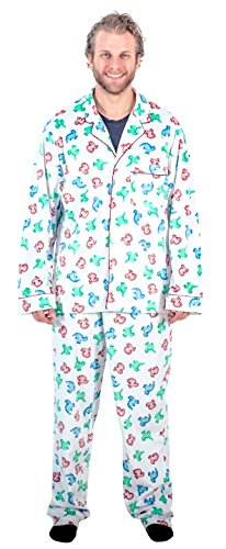 National Lampoon's Christmas Vacation Clark's Dinosaur Pajama Set (Adult X-Large)