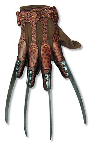 Rubie's mens Freddy Krueger fleece Costume Accessory Glove, Multi, One Size