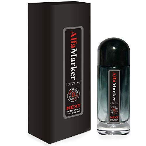 Alfamarker Pheromones Perfume for Men Spray to Attract Women Male Pheromone Cologne Intense 20 m Hombres Feromonas Formula para Atraer Mujeres Premium scent Great Holiday Gift