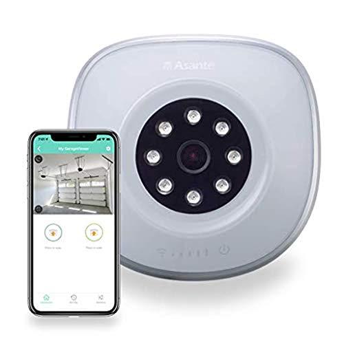 Asante GarageViewer, Garage Camera and Smart Garage Door Opener combined in one