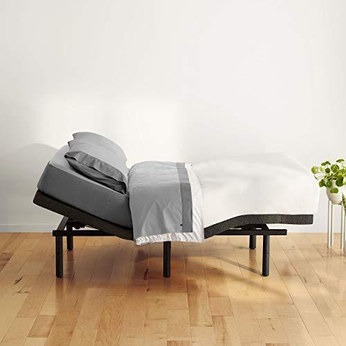 Casper Sleep Adjustable Bed Frame, Queen, Black