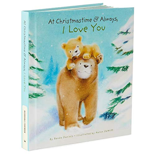 Hallmark 'At Christmastime and Always, I Love You' Recordable Storybook