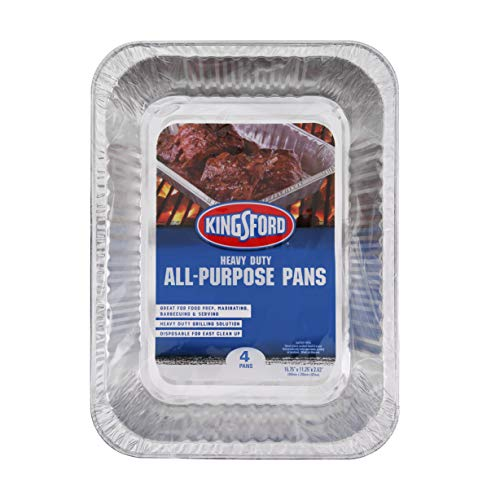 Kingsford Grilling 4 Count All Purpose Pans