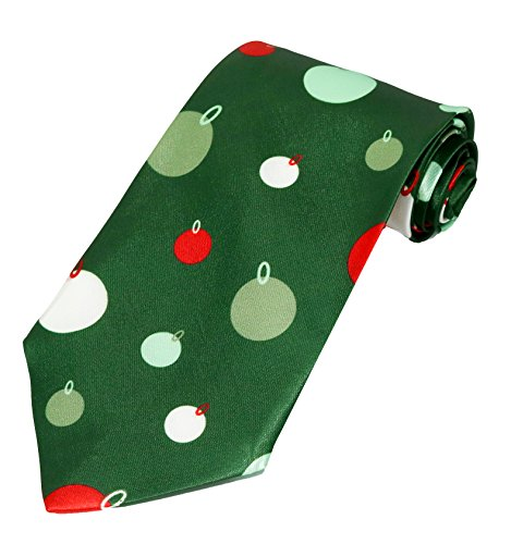 Deluxe Christmas Musical Ties (1 Tie, Ornaments)