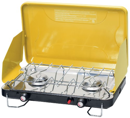 Stansport High Output Propane Stove with Piezo Igniter, Citron Yellow