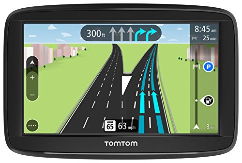 TomTom Via 1525M 5-Inch GPS Navigation Device with Free Maps of North America, Advanced Lane Guidance and Spoken Turn-By-Turn Directions