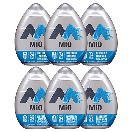 Mio Water Enhancer (Blueberry Lemonade, Pack of 6)
