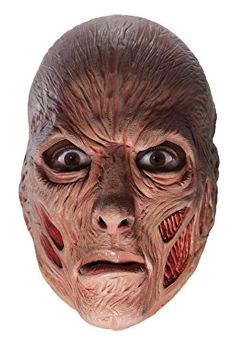A Nightmare on Elm Street Costume Accessory, Freddy Krueger Teen 3/4 Vinyl Mask