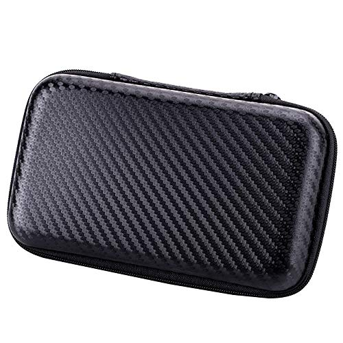 BROQLI Portable Hard Case for Western Digital Power Bank Battery Cell Phone External Hard Drive USB Charging Cable Organizer MP3 Player iPod Nano iPod USB Cable Memory Cards Travel Accessories