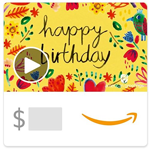 Amazon eGift Card - Butterfly Birthday (Animated) [American Greetings]