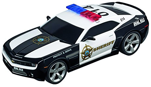 Carrera 30756 Digital 132 Slot Car Racing Vehicle - Chevrolet Camaro Sheriff - (1:32 Scale)