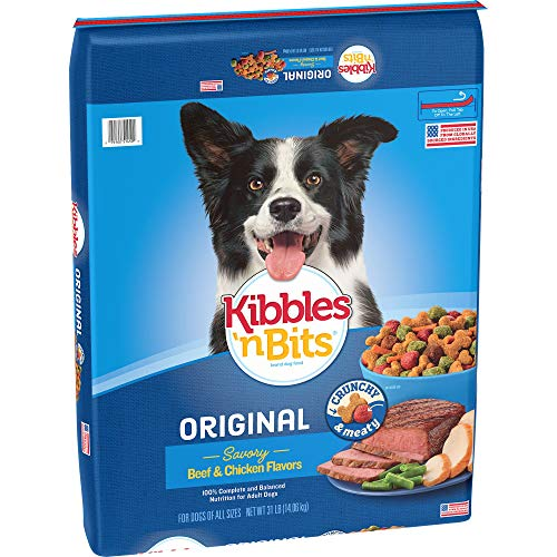 Kibbles n Bits Original Savory, Beef and Chicken, 31 Pound