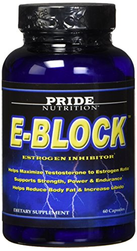 Estrogen Blocker for Men & Hormone Balance for Women- E-Block- Natural PCT Aromatase Inhibitor Anti Estrogen Acne Support Formula Post Cycle Therapy Supplement Plus DIM, Calcium-d-glucarate, Chrysin
