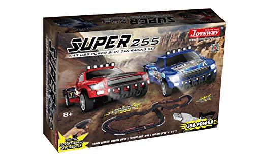Joysway Super 255 USB Power Slot Car Racing Set