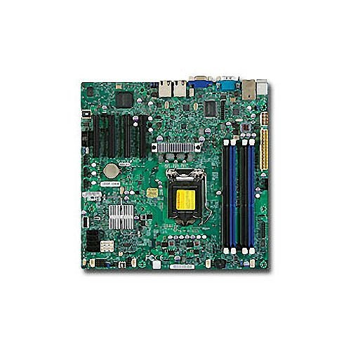 Supermicro X9SCM-F Server Motherboard - Intel C204 Chipset - Socket H2 LGA-1155 (Renewed)