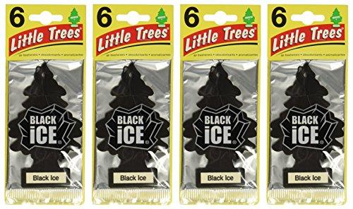 Little-Trees Black Ice Little Tree Air Freshener- 24 Pack