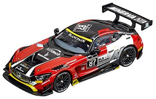 Carrera Evolution Analog Slot Car Racing Vehicle - 27578 Mercedes-AMG GT3 AKKA ASP, No.87 (1:32 Scale)