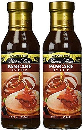 Walden Farms Pancake Syrup, 12 Fl Oz (Pack of 2)