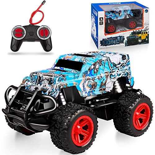 NARRIO Kids Toys for 3 4 5 6 Year Old Boys Birthday Gift, Remote Control Car for Boys 3-5 RC Cars Monster Truck for Boys Outdoor Toys, Christmas Kids Gifts for 4-8 Year Old Boys Toddler Toys Age 2-6