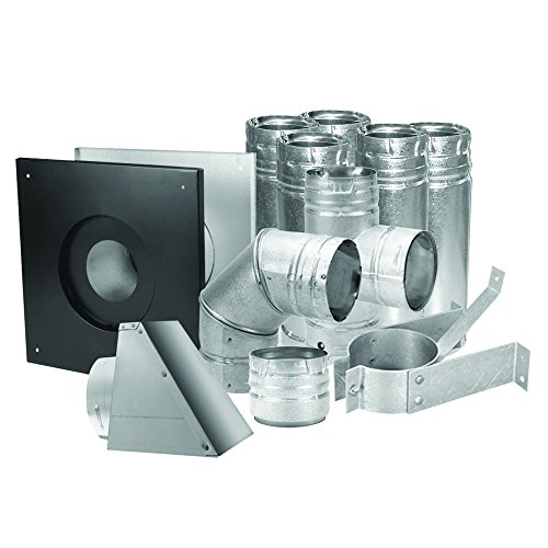 Duravent 3' Stainless Pellet Vent Kit