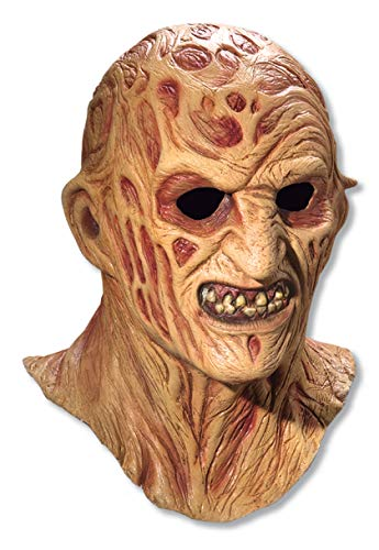 Rubie's unisex adult Nightmare on Elm Street, Freddy Krueger, Deluxe Overhead Mask Party Supplies, Multicolor, One Size US